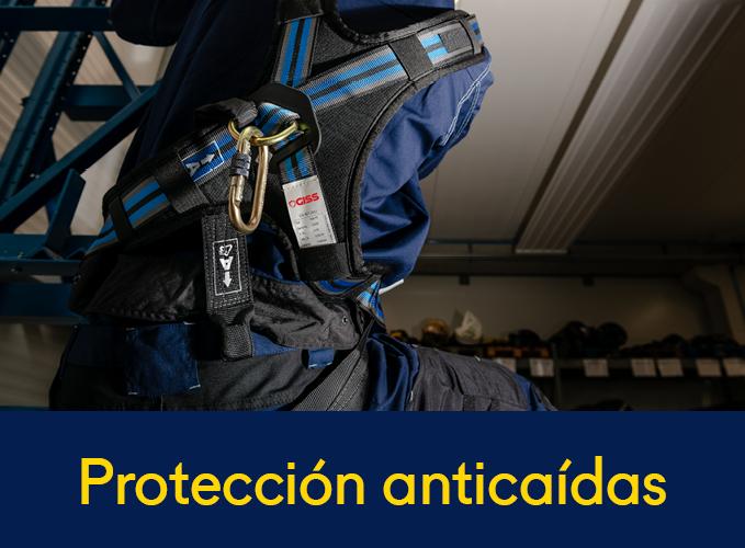 Protección anticaídas
